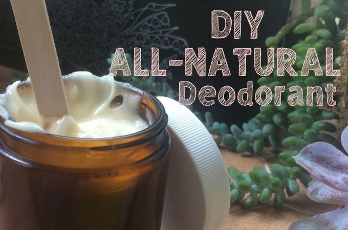DIY all natural deodorant