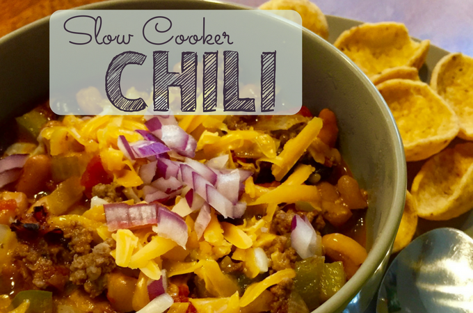 Weeknight Slow Cooker Chili