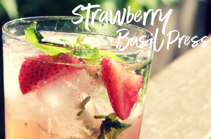 Strawberry Basil Press