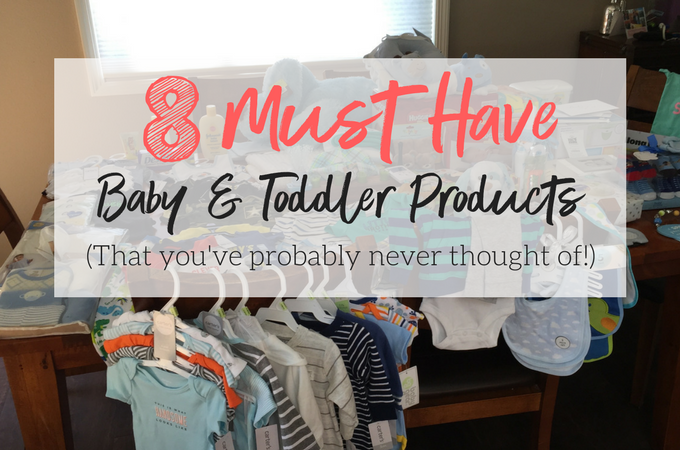 My absolute favorite, must-have baby products! These are the 8 things our family can't live without!