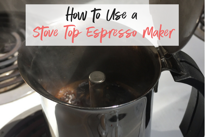 How to use a stove top espresso maker to perfect your favorite coffee drink, right at home!