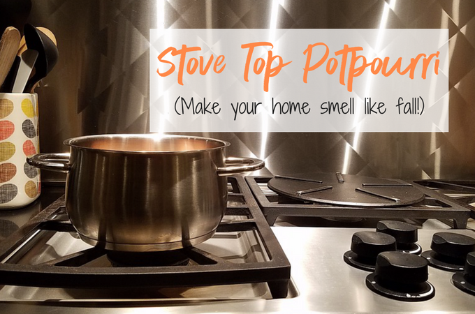 Stove-Top Potpourri Recipe